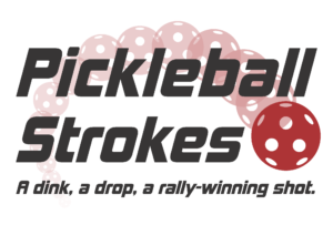 Pickleball Strokes Logo